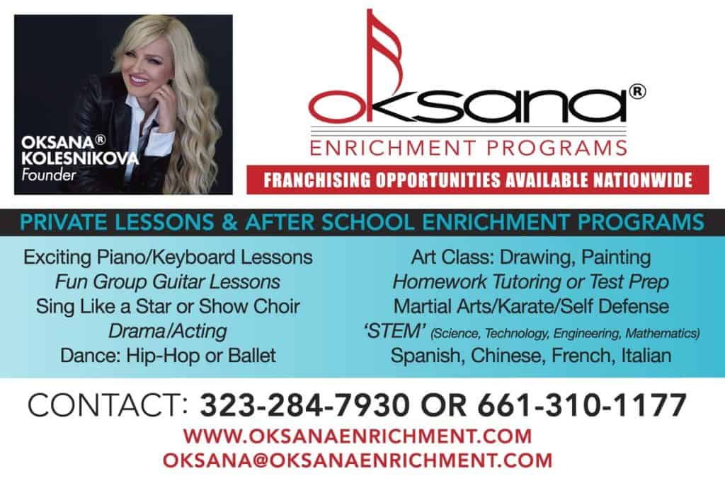 Oksana Enrichment Franchise