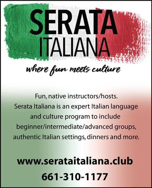 Serata Italiana SantaClarita MagazineAD