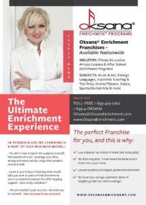Oksana Enrichment Flyer A