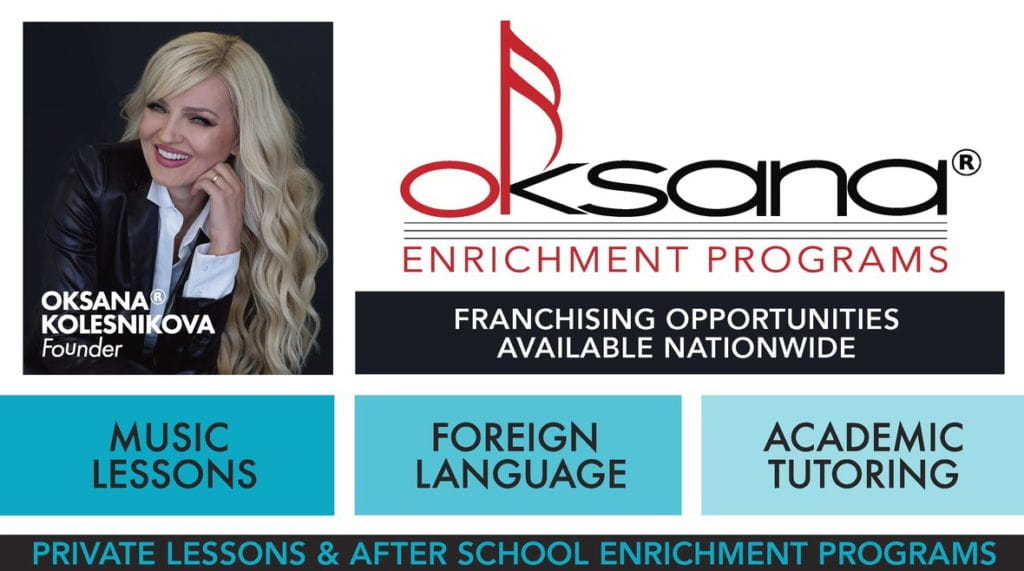 Oksana Enrichment Franchise Banner