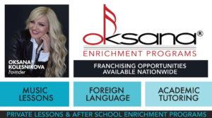 Oksana Enrichment Franchise Banner