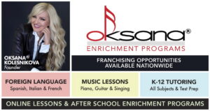 Oksana Enrichment Franchising Banner