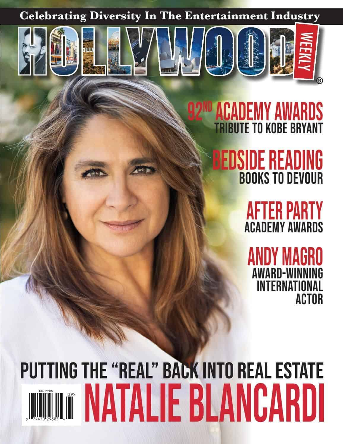 Natalie Blancardi Hollywood Weekly