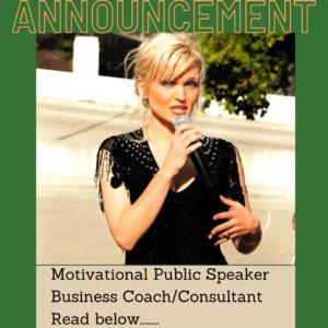 Oksana Public Speaker Business Coach Consultant