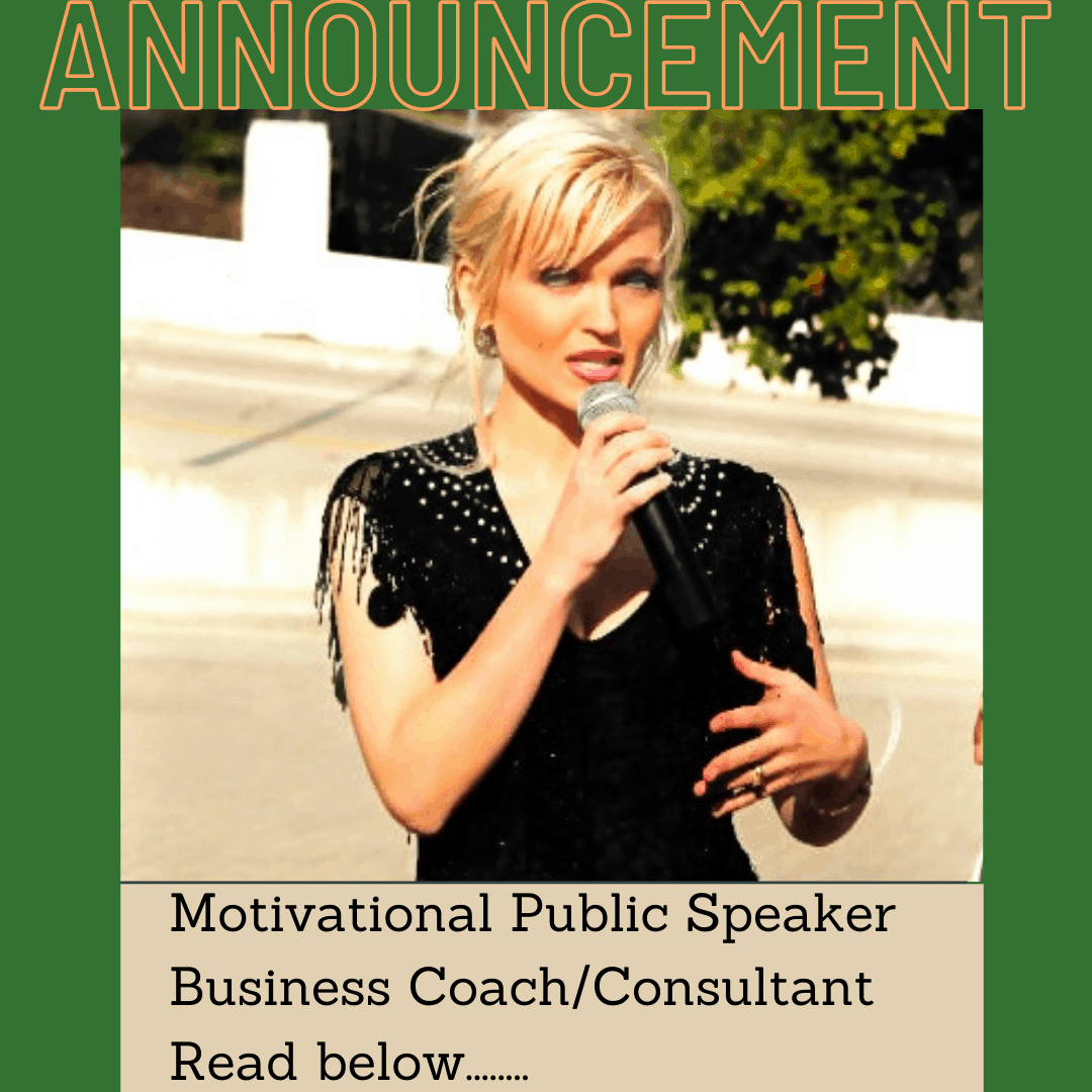 Oksana Public Speaker Business Coach Consultant